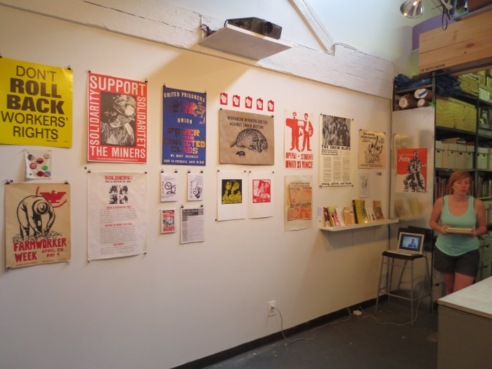 Image of Work Stoppage Exhibition