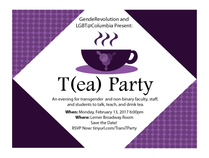 T(ea) Party Flyer