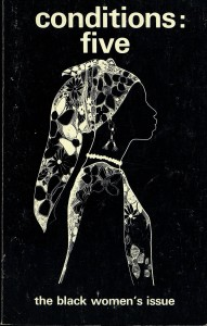 """Courtesy of the Barnard Center for Research Women; """"Nubian Woman"""" cover image reprinted with permission of Brenda Haywood."""