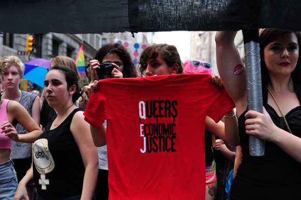 Dyke March photo by Syd London