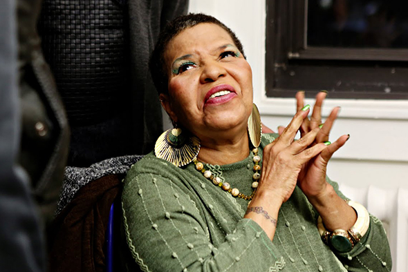 Ntozake Shange at Barnard College