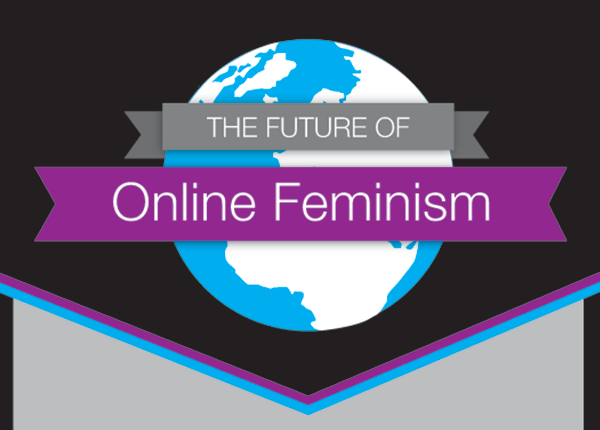 The future of online feminism graphic