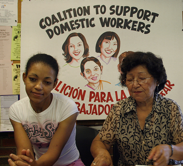 Domestic Worker Organizing event