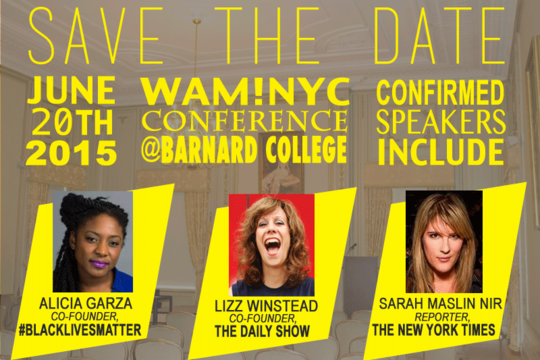 WAM!NYC Conference 2015