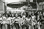 Barnard College Students on Strike, 1972