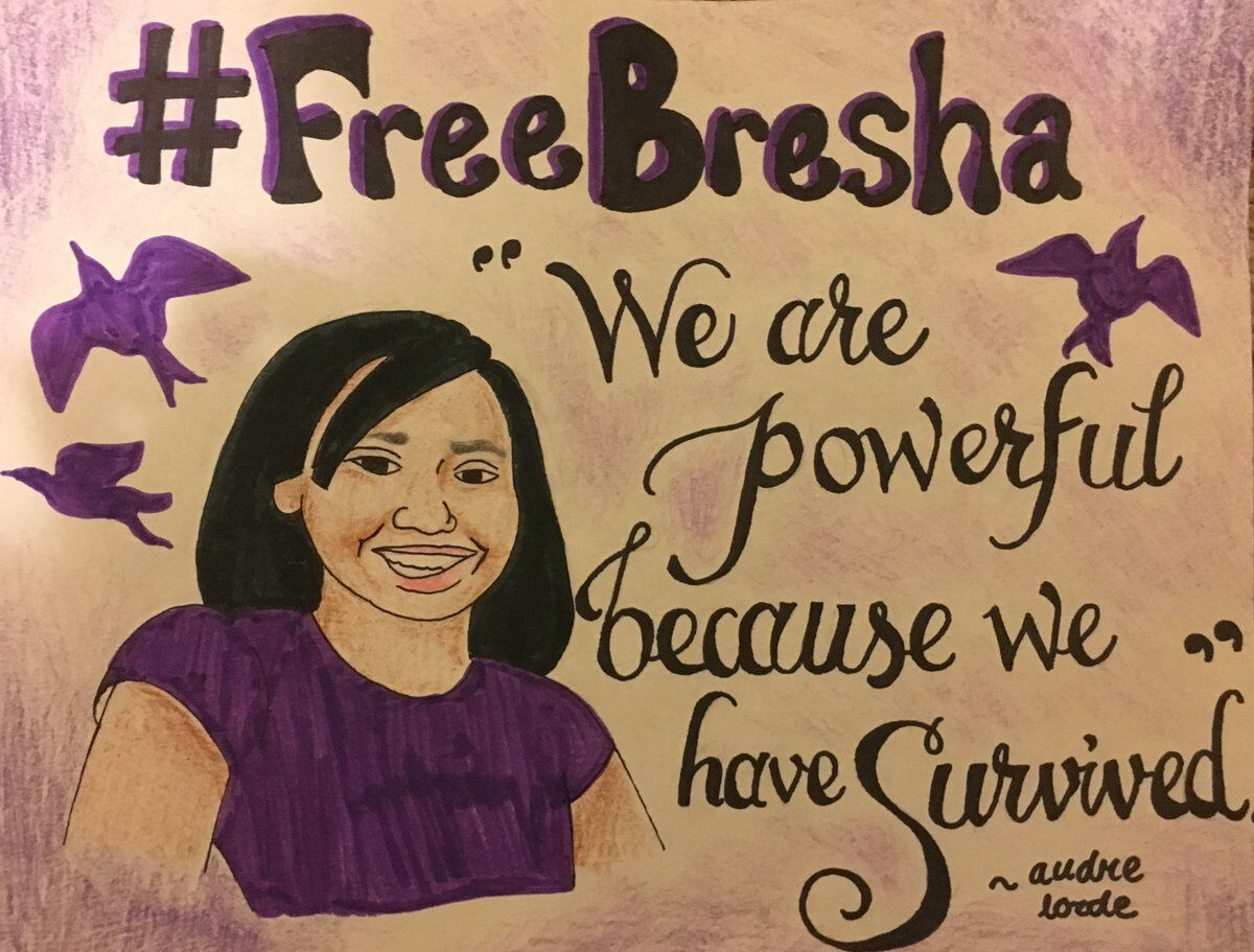 Free Bresha - Audre Lorde